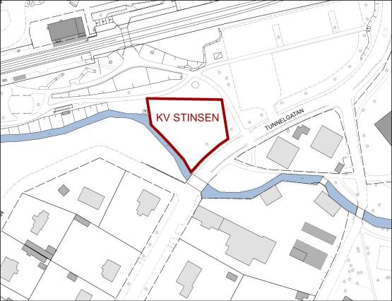 Ledig mark för verksamhet i kvarteret Stinsen
