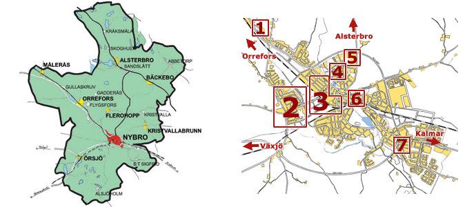 nybro kommun karta