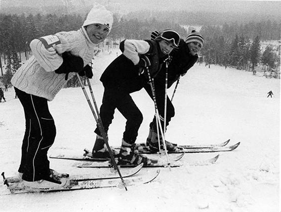 Nybro Slalomklubbs anläggning i Svartbäcksmåla har genom åren erbjudit goda träningsförhållanden för de alpina disciplinerna.