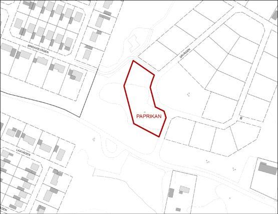 Mark för flerbostadshus i Östra Hanemåla